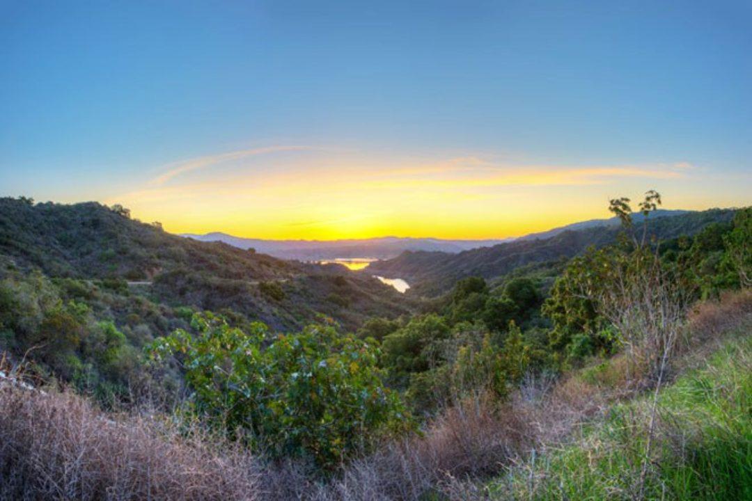 Ojai California at dawn