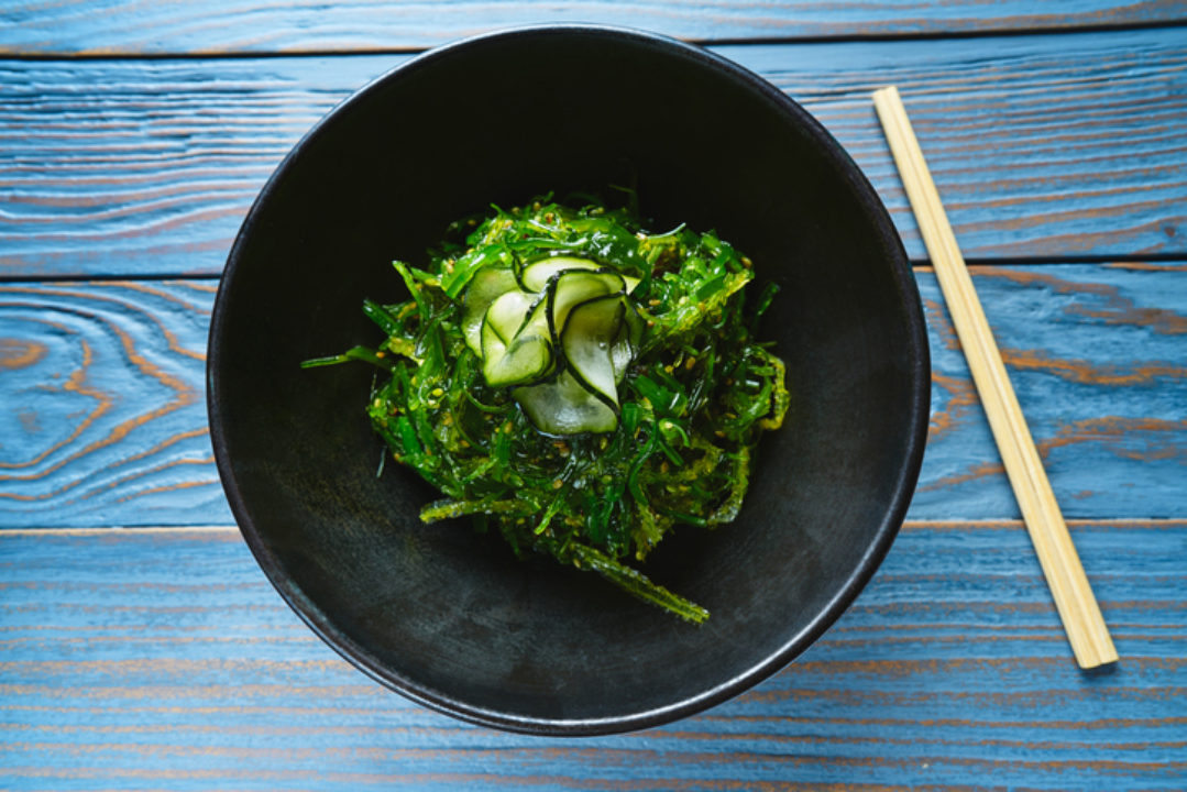 Nutritious seaweed salad is chock-full of health benefits