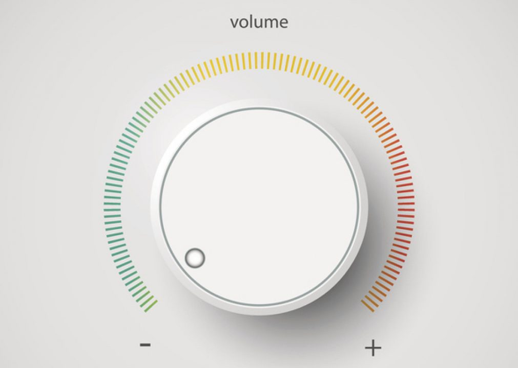 volume dialed to off for silent retreat