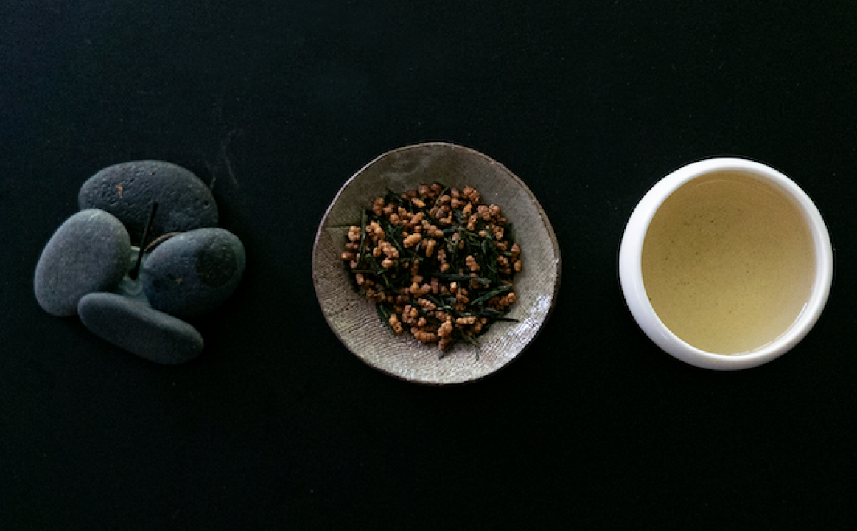 3 cups of Sorate green tea ingredients