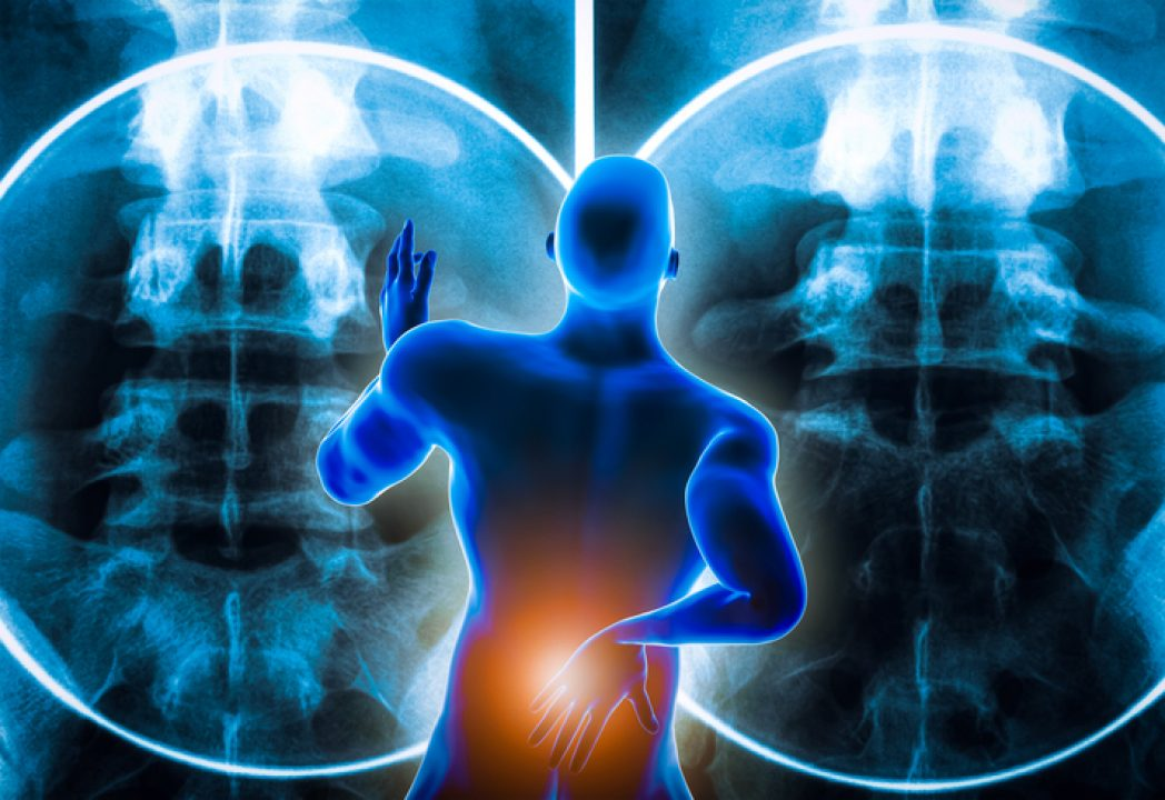 man with back pain for the spiritual meaning of back pain
