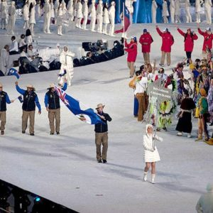 Image of opening ceremonies of Cayman Islands museum