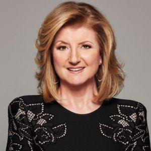 Headshot of Arianna Huffington