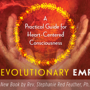 Book cover, The Evolutionary Empath