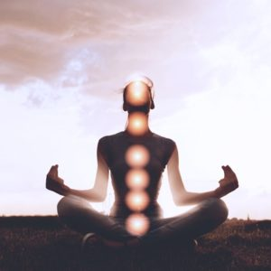 Chakras active in meditation