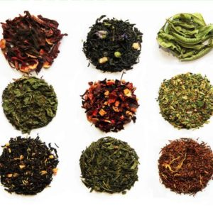 Assortment of teas