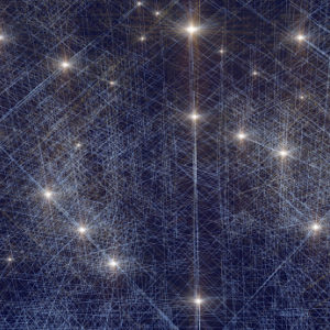 Conceptual image representing neural networks in artificial intelligence
