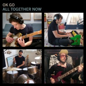 "OK Go band members performing new release ""All Together Now"""
