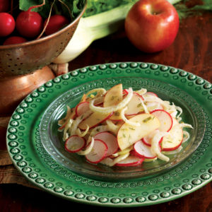 Fennel Apple Radish Salad