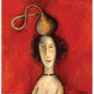 Girl With The Gourd