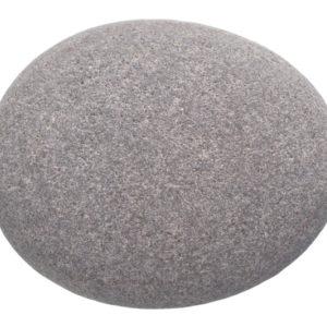 A plain gray rock