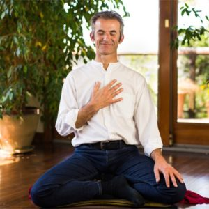 Mark Coleman in seated meditation