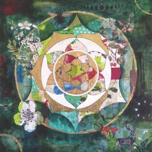 Hawthorn Mandala, Shelley Kommers