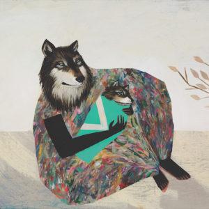 A painting by Deedee Cheriel