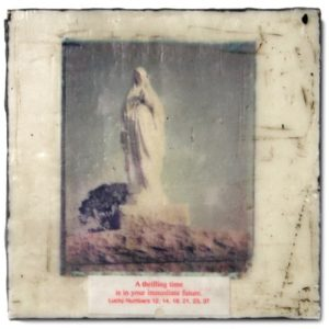 Mixed Media print of Mary Magdalene