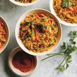 Turmeric Yellow Quinoa for Health Benefits