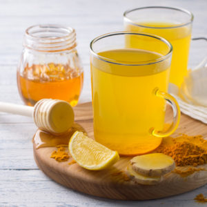 Turmeric and Ginger Cold-Fighting Wellness Tonic