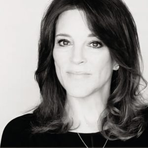 Headshot of Marianne Williamson
