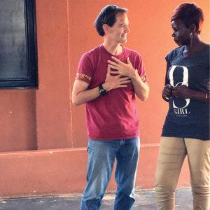Paul Sutherland in Uganda