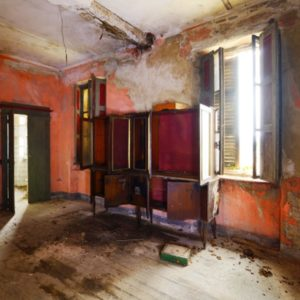 Old room in disrepair