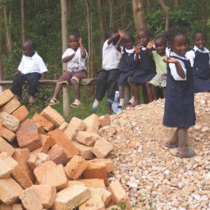 Students at the Ruhanga Development School