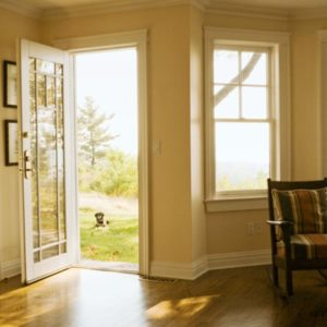 Bright home with open doors and windows shows how important a home is