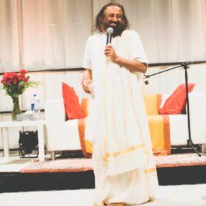 His Holiness Sri Sri Ravi Shankar at Get Happy Portland