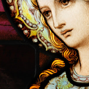Stained glass Mother