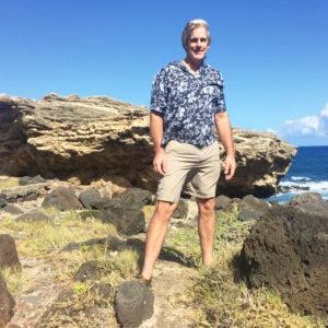 Stephen Kiesling in Oahu