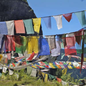 Bhutan, prayer flags