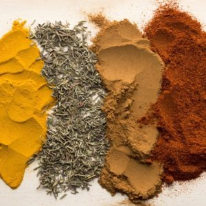 Four bulk spices