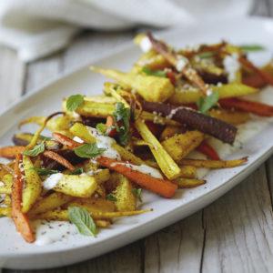 Turmeric Roasted Root Vegetables