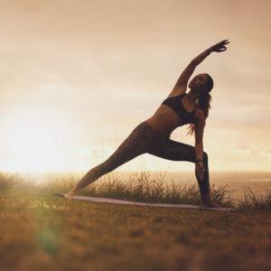 Utthita Parsvakonasana yoga asana for hip strength