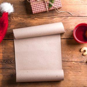 Empty Christmas wish list
