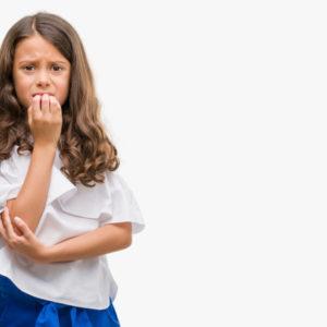 An anxious child