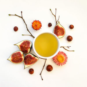 fall figs and tea