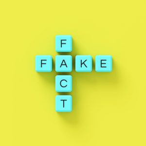 Fact or Fake scrabble tiles health information on social media