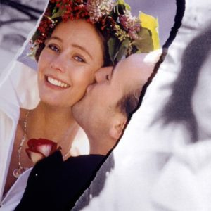 Photographs of bride and groom