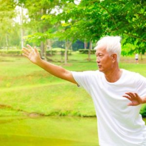 Performing Qigong Exercise