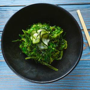 Nutritious seaweed salad is chock-full of health benefits