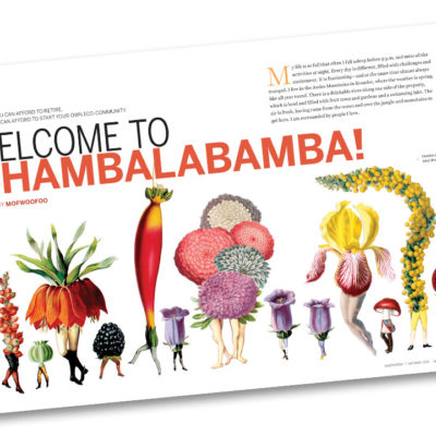 Welcome to Chambalabamba! from the previous issue