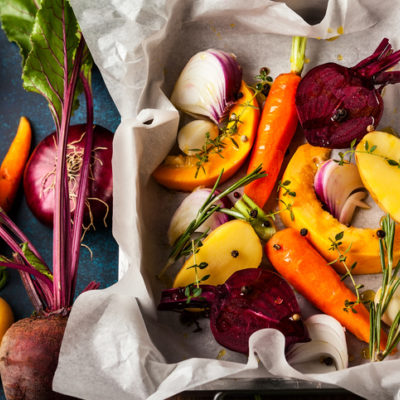 Grounding foods: root vegetables and spices