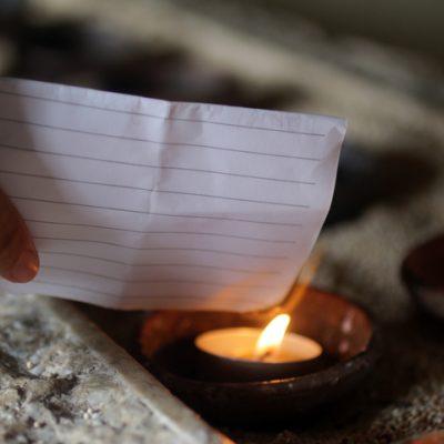 letter writing burn ritual for healing