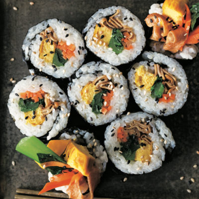 Kimbap Modoki Roll