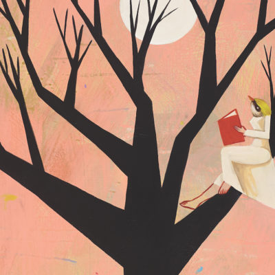 Artistic image of tree