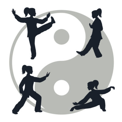 Yin is restful, dark, and feminine. Yang is active, light, and masculine. The two forces complement/ balance each other.