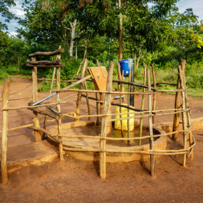 A simple well in Uganda
