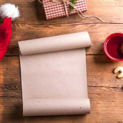 Empty Christmas wish list