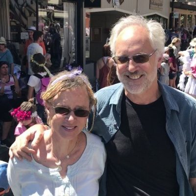 Neal Allen and Anne Lamott