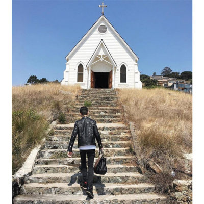 Old St. Hilary's in Tiburon, California